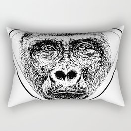 Diamond Gorilla Rectangular Pillow
