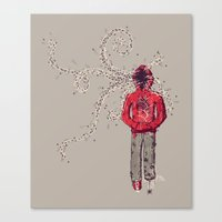 inner demons Canvas Prints featuring Inner Demons by Hector Mansilla