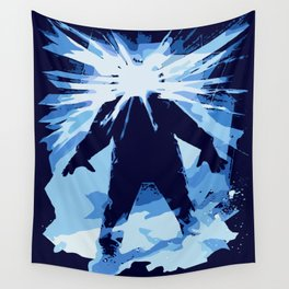 Man is the warmest place to hide ... Wall Tapestry