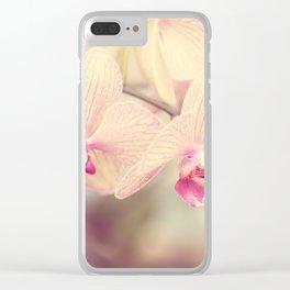 Orchid IV Clear iPhone Case
