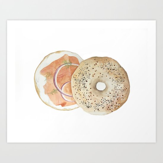 Bagel & Lox Vol. 3 by artbyamalyah