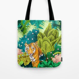 Jungle Tiger Tote Bag