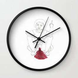 period angst Wall Clock
