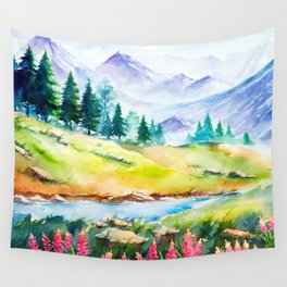Spring Scenery #3 Wall Tapestry