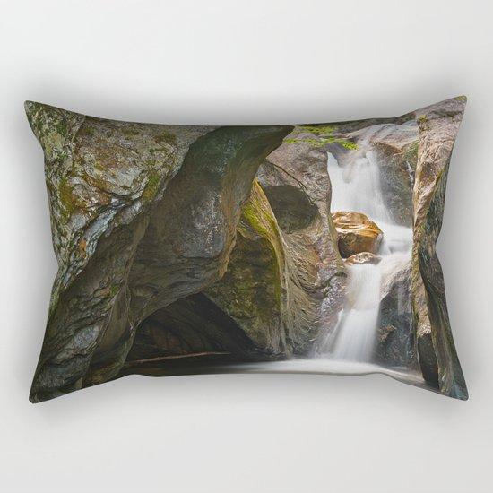 Texas Falls Rectangular Pillow