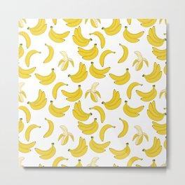 Bananana Neck Gator Bananas Metal Print