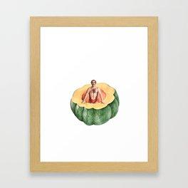 Acorn Squash Framed Art Print