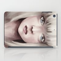 chandelier iPad Cases featuring Chandelier by Carolina Valtuille