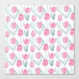 Tulipanes Canvas Print