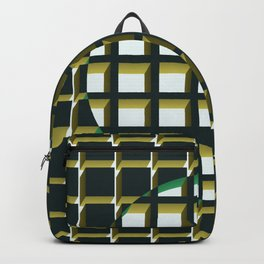 Green Exclusion Backpack