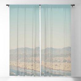 Santa Monica, California  Blackout Curtain