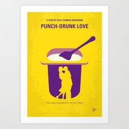 No1022 My Punch-Drunk Love minimal movie poster Art Print