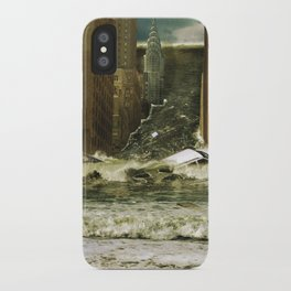 Water vs City iPhone Case