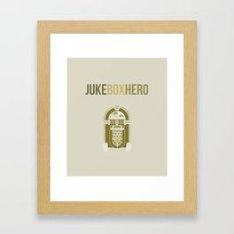 JukeBoxHero Framed Art Print