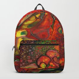 Dragon Fire Lava Flow Cells Backpack