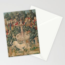 The Hunt of the Unicorn Stationery Cards