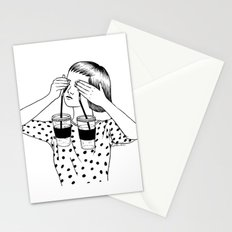Two Cups Of Tears Stationery Cards