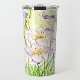 Carmen Renee Day Lilies Travel Mug