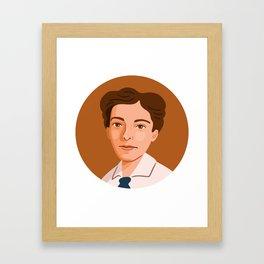 Queer Portrait - Pauline Newman Framed Art Print