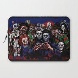 Horror Villains Selfie Laptop Sleeve