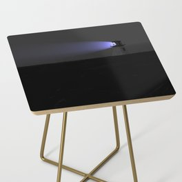 Lighthouse with purple light Side Table