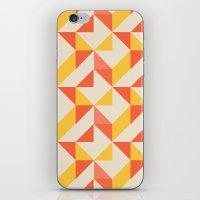 geo iPhone & iPod Skins featuring Geo by Aneela Rashid