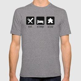 Eat, sleep, play T-shirt