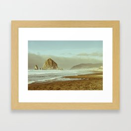Oregon Coast, A Cannon Beach Dream Framed Art Print