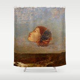 "Odilon Redon ""Hommage a Goya"" Shower Curtain"