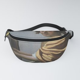 """Johannes Vermeer """"A Young Woman Seated at the Virginal"""" Fanny Pack"""