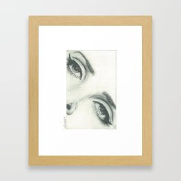 LanaDelRey Eyes Framed Art Print