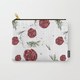 Roses pattern Carry-All Pouch