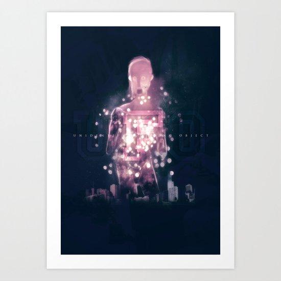 Ufo Art Print