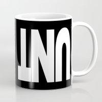 cunt Mugs featuring UNT CUNT MUG by CreativeAngel