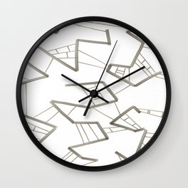 Molecule7 Wall Clock