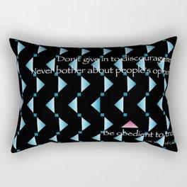 Marching Orders motivation Rectangular Pillow