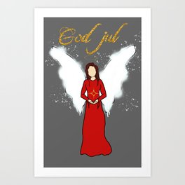 Engel Art Print