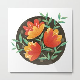 Afternoon Blossoms Metal Print