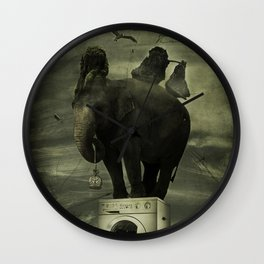 Comes & Goes Wall Clock