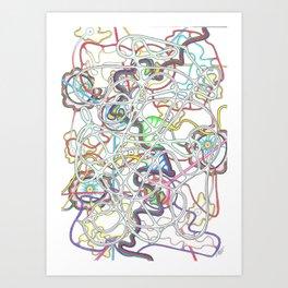 BAL Collaboration  Art Print