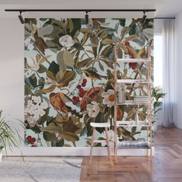Floral and Birds XXVII Wall Mural
