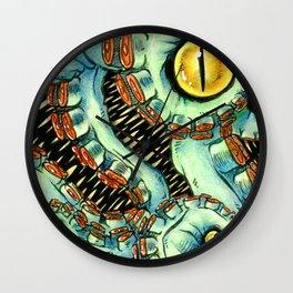 Tentacle Mass Wall Clock