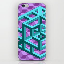 impossible patterns iPhone Skin