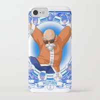 dragonball z iPhone & iPod Cases featuring DragonBall Z - Human House by Art of Mike