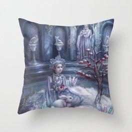 Winter Fairytale Throw Pillow