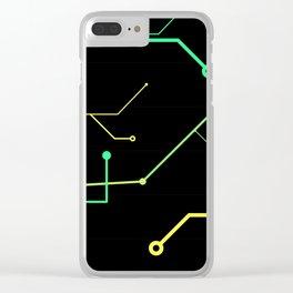 Techno Design Clear iPhone Case