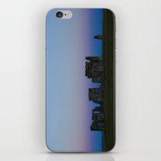 Stonehenge In Pink iPhone & iPod Skin