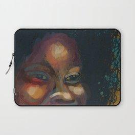 Glorious Smile, Glorious Hair, Glorious Glow: African Woman Laptop Sleeve