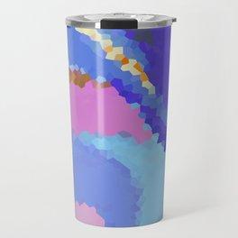 Pixel color Travel Mug