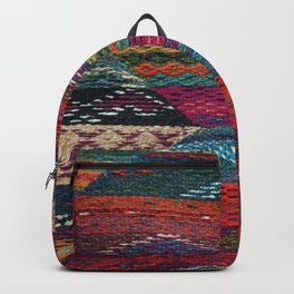 ARTERESTING V45 - Boho Traditional Moroccan Colored Design Backpack